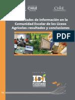 7.- Necesidades de Información en La Comunidad Escolarde Los Liceos Agricola