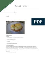 Tortelete de Maracujá e