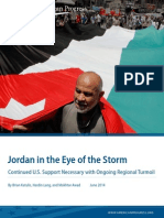 Jordan in the Eye of the Storm