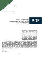 Notas Sobre Hermenéutica y Religion en La Obra de Mircea Elaide