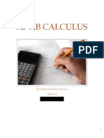 AP AB Calculus - First Semester Review Project
