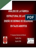 Análisis de la Fábrica Estructural y Diseño de Bermas de Seguridad Presentación.pdf
