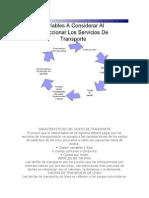 Caracteristicas Del Costo de Transporte Rosalba