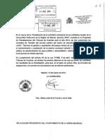 Informe Contratos Tribunal de Cuentas 2014