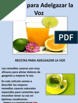 remedios naturales efectivos para bajar de peso