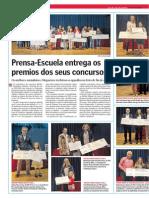 Prensa-Escuela Entrega Os Premios Dos Seus Concursos. La Voz de La Escuela.11.06.2014