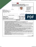 Admitcard.online Ap1.Com Ongcadmit Hall Ticket.aspx