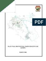 Plan Vial Provincial Participativo de Satipo (2)