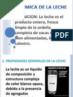 Bioquimica de La Leche Exposicion