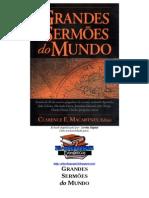 Grandes Sermoes Do Mundo (Clarence E. Macartney)