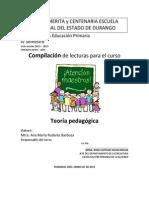 Compilación Teoría Pedagógica