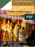 Kota Cirebon Dalam Angka Tahun 2013