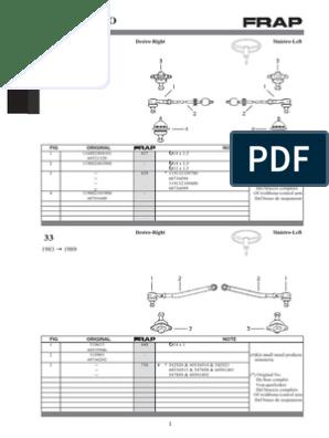 FORD FIESTA 1.2 1.3 1.4 1.6 1996-2002 LOWER WISHBONE SUSPENSION ARM LEFT SIDE