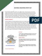natural disaster explanation 2nd draft