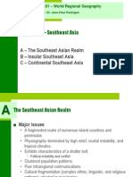 Geog 001 Chapter 10 (Southeast Asia)