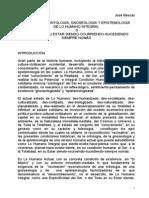 Acerca de La Gnoseología y Epistemología de Lo Humano Integral