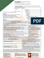 Studeo Kompakt 52 Formatierung Diplomarbeit Inhaltsverzeichnis