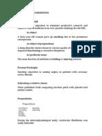 Formas –Ing y to Infinitivo