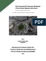 Mengatasi Masalah Transportasi Di Indonesia