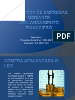 Compra de Empresas a Traves de Apalancamiento Financiero
