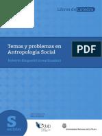 Libro Ringuelet Temas y Problemas de La Antropologia