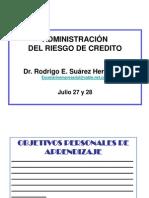 Administracion Riesgo de Credito