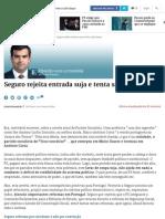 Seguro Rejeita Entrada Suja e Tenta Saída Limpa - Expresso.pt