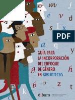 Contenidos-Cultura, Patrimonio y Género-Archivos-guia Incorporacion Enfoque Genero Bibliotecas