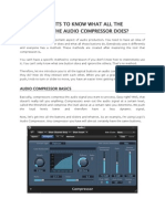 Compression Basics
