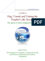 A Guide to Hajj, 'Umrah and Visiting the Prophet's Mosque