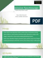 Optical Emission Spectroscopy