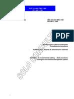 ISO 14011 1996 Auditorias Esp