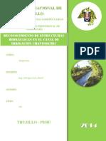 Reconocimiento de Estructuras Hidraulicas CHAVIMOCHI