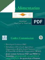 Codex Alimentarius (1)