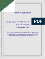 British Standard-Waste Water Treatment Plant
