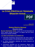 LaCrisisElEctricaenVenezuelaFebrero2013