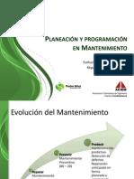 Planeacion y Programacion en Mantenimiento Pedro Silva