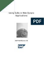 Using EJBs in Web Dynpro Applications