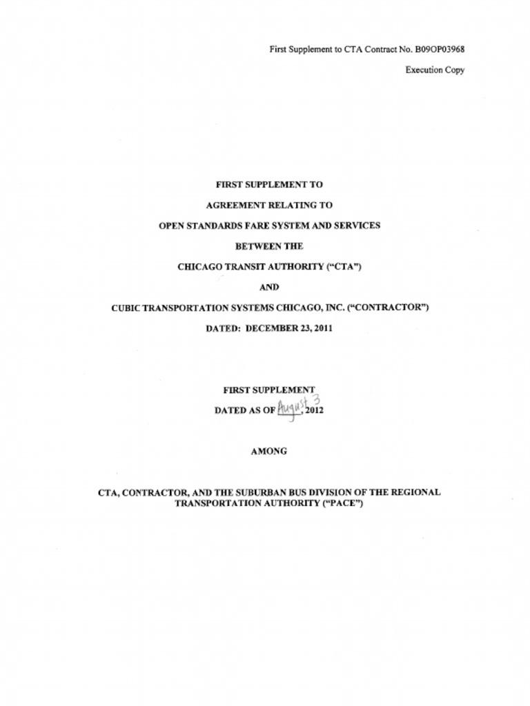 Cta Open Fare Agreement B09op03968 Firstsupplement Redacted71g