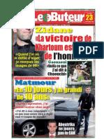LE BUTEUR PDF du 23/11/2009