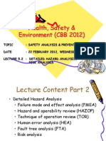Lecture 7-2 Safety Analysis