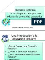 Introduccion a La Educaci_n Inclusiva