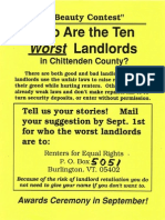 Who Are the Ten Worst Landlords?