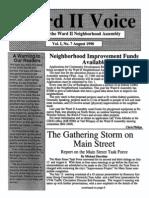 Ward II Voice - Vol 1, No 7 - August 1990