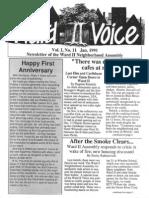 Ward 2 Voice - Vol 1, No 11 - Jan 1991