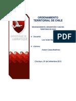 Ordenamiento Territorial de Chile