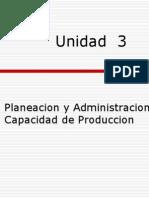 Gestión de la producción I - Unidad 3