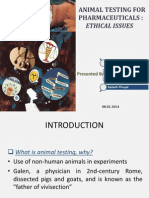 Animal Experimentation Ethics