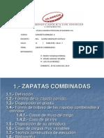 Zapatas Combinadas(Informe)