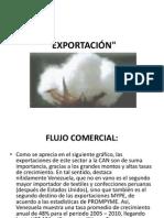 EXPORTACIÓN algodon
